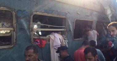 وزارة التضامن تصرف الف تعويض لحالة الوفاياة لقطار الاسكندرية