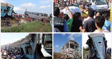 وفاة مستشار بشركة السكك الحديدية اثناء مشاهدة حادث قطار الاسكندرية