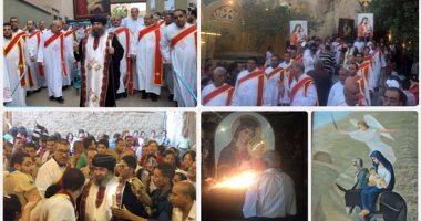 """مسلمون ومسيحيون ينشدون فى حب العذراء:""""السلام لك يا مريم"""""""