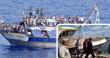 قبل موتهم غرقًا فى عرض البحر.. أجهزة الأمن تحبط 13 رحلة هجرة غير شرعية خلال شهر.. وتلقى القبض على أشهر 4 سماسرة بالمحافظات الساحلية.. وتتحفظ على 153 شابا بشقق مفروشة قبل سفرهم لأوروبا بالقوارب