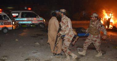 مقتل 15 شخصا وإصابة 32 أخرين فى انفجار بموقف حافلات جنوب غربى باكستان