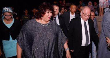 """وصول وزير الثقافة وحضور جماهيرى كبير بحفل افتتاح """"محكى القلعة"""""""