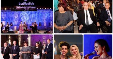 وزير الثقافة ومحافظ القاهرة يفتتحان حفل محكى القلعة