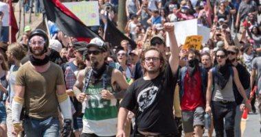 """شرطة فرجينيا و""""FBI"""" يحققان فى أعمال عنف خلال مسيرة لقوميين بيض"""