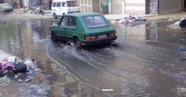 شكوى من استمرار طفح مياه المجارى فى شارع سيف الإسلام بالإسماعيلية