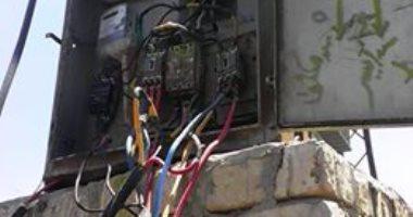بسبب المحول..شكوى من تكرار انقطاع الكهرباء فى قرية اليوسيفية بالبحيرة