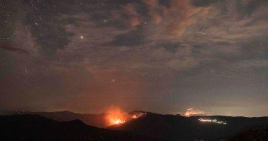 بالصور.. سقوط شهب نيزكية على بحيرة اصطناعية بمقدونيا