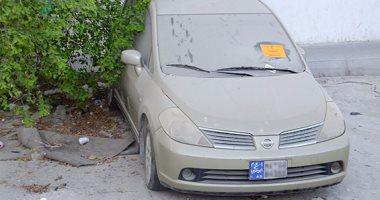 قارئ يبلغ عن سيارة مركونة لفترة طويلة بالعجوزة ويطالب برفعها