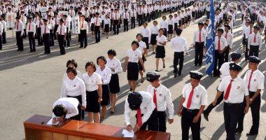 بالصور... إقبال كبير من الشباب على التطوع فى جيش كوريا الشمالية