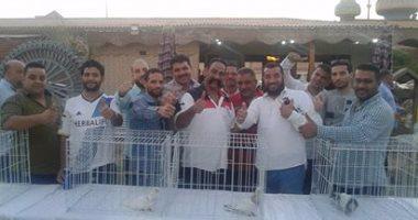 مهرجان سنوى لتربية الحمام فى محافظ دمياط
