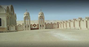 دير الأنبا صموئيل: لا نمر بأزمة مالية.. ومنع الزيارات لظروف أمنية