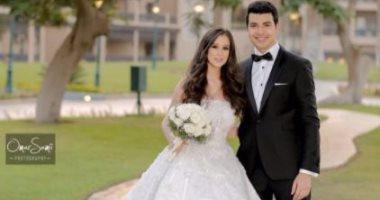 60c6d524f أول تعليق للفنان محمد أنور بعد زواجه: أحلى ليله فى عمرى