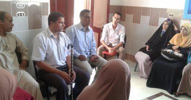 """""""المصريين الأحرار"""" بالفيوم يناقش تجهيز مدرسة لاستقبال ذوي الإحتياجات الخاصة"""