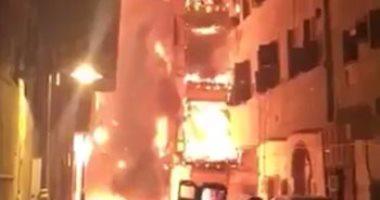 السيطرة على حريقين بمحطة وقود وحظيرة مواشى بفارسكور فى دمياط