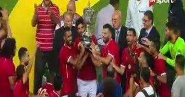اتحاد الكرة: مليون و750 ألف جنيه مكافأة فوز الأهلى بكأس مصر -