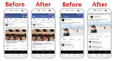 الشكل القديم VS الجديد.. كيف تغير شكل حسابك على فيس بوك بعد التحديث؟ -