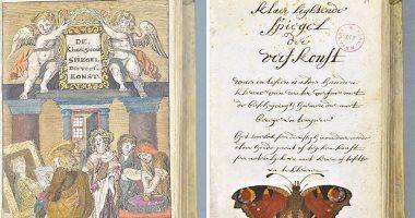 بالصور..   شاهد النسخة الوحيدة من كتاب عمره 325  عاما عن فن الألوان -