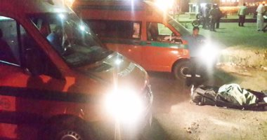 مصرع طالب صدمته سيارة بقرية بنى حافظ التابعة لمركز ملوى جنوب المنيا