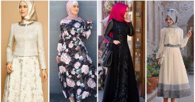 d0acc1a44 كملى شياكتك فى الصيف بفساتين محجبات بأشكال مختلفة اختارى منها
