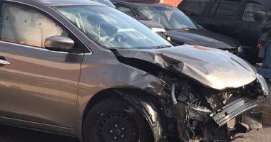 مصرع شخص وإصابة 2 آخرين فى حادث انقلاب سيارة بطريق أسيوط الصحراوى