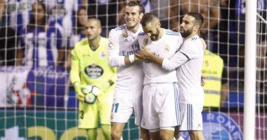 استبعاد 5 لاعبين من قائمة ريال مدريد أمام فالنسيا