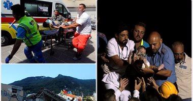 قتيلان و39 مصابا حصيلة ضحايا زلزال إيطاليا  -