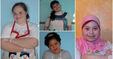 """تعرف على حكاية 4 فتيات تحدين متلازمة """"داون"""" بمشروع الكوكيز"""