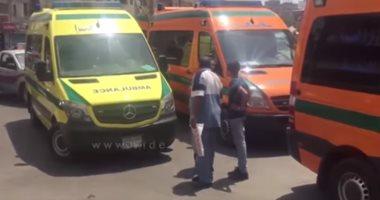 مصرع شخصين فى حادث تصادم دراجتين بخاريتين بالمحلة