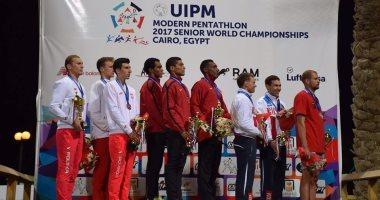 بالصور.. مصر تقتنص ذهبية بطولة العالم للكبار للخماسى الحديث