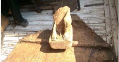 شرطة السياحة تضبط مقبرة فرعونية وقطع أثرية فى مسكن عامل بالشرقية