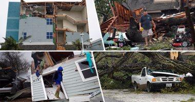بالفيديو.. إعصار هارفى يجبر أمريكا على فرض حالة الطوارئ بــ50 ولاية