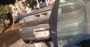 قارئ يبلغ عن سيارة مركونة لفترة طويلة بشارع الخليفة الظافر فى مدينة نصر
