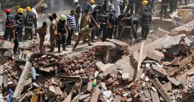 مصرع 7 أشخاص جراء انهيار مبنى فى سريلانكا