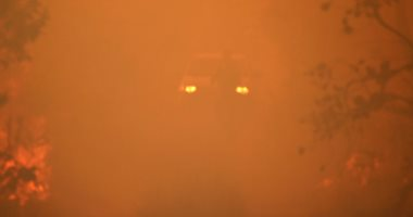 الدفع بـ10 سيارات إطفاء لإخماد حريق بمزرعة نخيل فى الواحات