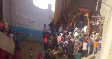 سقوط طالبة من الطابق الثالث أثناء هروبها من نافذة منزلها ببولاق الدكرور