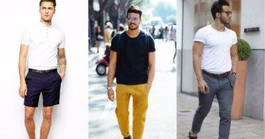 e8dacc4ff قاموس الموضة الرجالى.. اعرف إزاى تلبس التيشرت البيزيك بـ3 طرق مختلفة ...