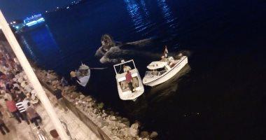 التصريح بدفن جثة شاب تعرض للغرق بنهر النيل فى العياط