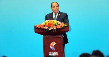 الرئيس السيسى يلقى كلمة أمام وفود الدول بمؤتمر الشمول المالى غدا