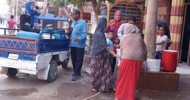 قرية الأخصاص فى الجيزة تشكو من قلة ضخ مياه الشرب