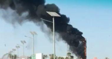 السيطره على حريق نشب داخل إحدى المحلات التجارية فى زفتى بالغربية