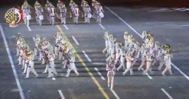 """شارك بالتصويت.. فريق الموسيقى العسكرية ينافس على """"أفضل أداء"""" بمهرجان روسيا"""