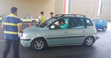 ضبط 30 سائقا يتعاطى المواد المخدرة أثناء القيادة بالطرق السريعة