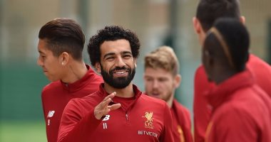 بالصور.. الظهور الأول لمحمد صلاح فى ليفربول بعد مباراتى أوغندا