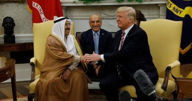 بالصور.. تفاصيل زيارة أمير الكويت لترامب فى البيت الأبيض