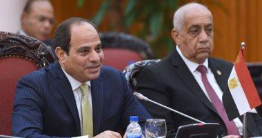 الرئيس السيسى يعتمد ترقية 1114 قاضيا بمجلس الدولة