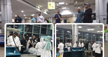 مطار القاهرة يستقبل طائرتين خاصتين على متنهما 339 حاجًا فلسطينىًا
