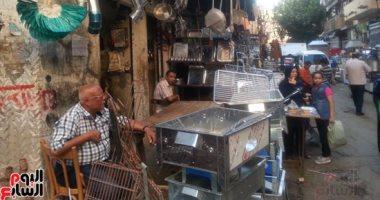 """""""سوق المغاربة"""" أشهر سوق صاج فى الإسكندرية"""