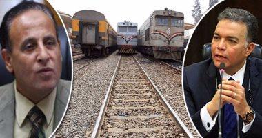 """السكة الحديد: انتهاء كهربة إشارات خط """"القاهرة - الإسكندرية"""" أبريل 2019"""