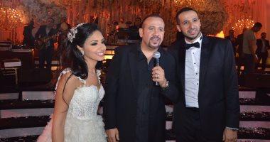 """الوزراء ونجوم السياسة والمشاهير في زفاف """"محمد عزيزي"""" و""""نورين ممدوح"""""""