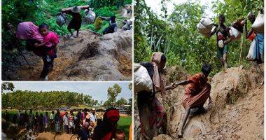 300 ألف لاجئ من الروهينجا يصلون بنجلادش خلال أسبوعين